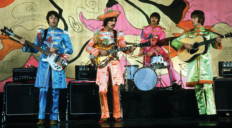 An introduction to the way the beatles changed rock music