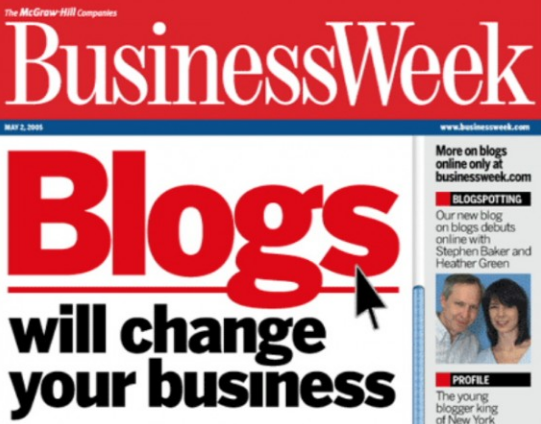 Business Blog … Learning from the Best Examples