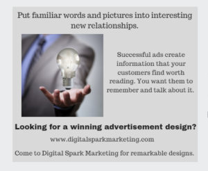 WINNING ADVERTISEmeNT DESIGN