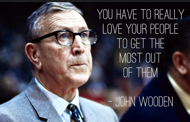 John Wooden Leadership Qualities 14 He Used For Career Development