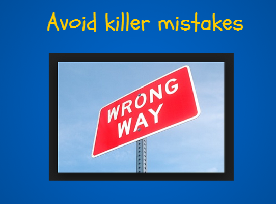 13 Examples of Making Mistakes with Content Marketing