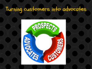 become your customers