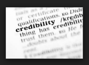 establish credibility examples