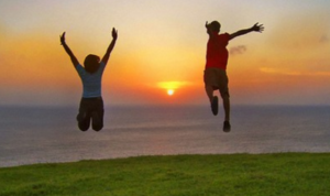 how to live a positive happy life