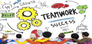 teamwork in the workplace examples
