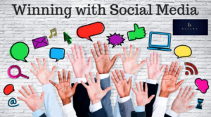 small businesses win social media