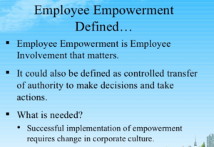 employee empowerment company examples