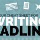 Catchy Headlines … 13 Easy Tricks to Writing Them
